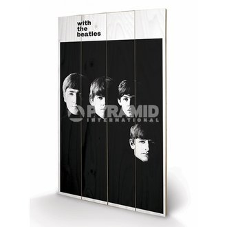 en bois tableau The Beatles - With The Beatles - PYRAMID POSTERS, PYRAMID POSTERS, Beatles