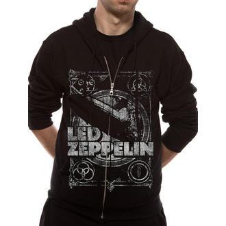 sweat-shirt avec capuche pour hommes Led Zeppelin - Shook Me - LIVE NATION - RTLZE074