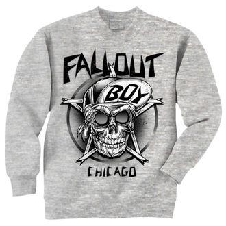 sweat-shirt sans capuche pour hommes Fall Out Boy - Skull - LIVE NATION, LIVE NATION, Fall Out Boy