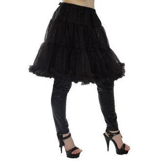 jupes pour femmes (jupon) POIZEN INDUSTRIES - Midi Petticoat - Noire