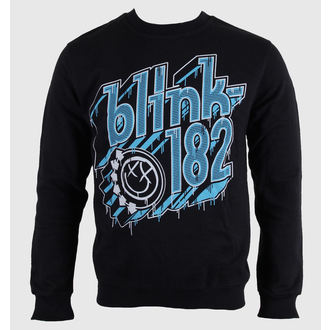 sweat-shirt sans capuche pour hommes Blink 182 - Drip Type - LIVE NATION, LIVE NATION, Blink 182
