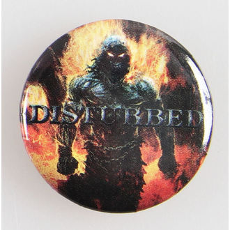 épinglettes Disturbed - Indestruct 5 Btn - BRAVADO, BRAVADO, Disturbed