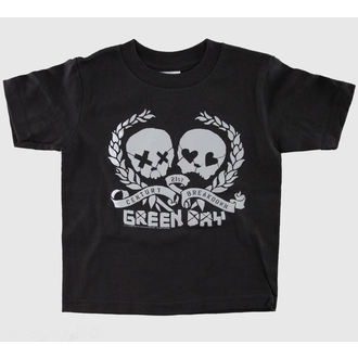 tee-shirt métal enfants Green Day - Blk - BRAVADO - GDY1211