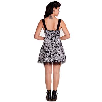 robe pour femmes HELL BUNNY - Avalon Mini - Noir / blanc, HELL BUNNY
