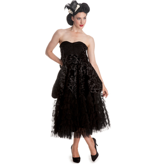 robe pour femmes HELL BUNNY - Lavintage - Noire, HELL BUNNY