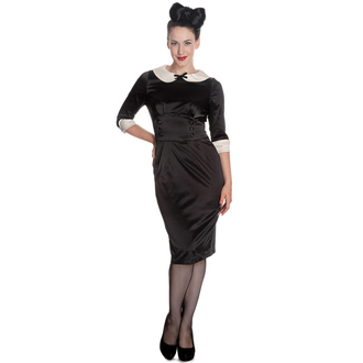 robe pour femmes HELL BUNNY - Moneypenny - Noir / ivoire, HELL BUNNY