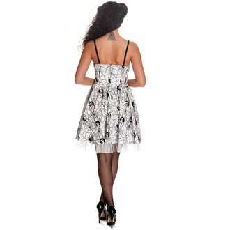 robe pour femmes HELL BUNNY - Mary Jane - BLANC, HELL BUNNY