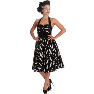 robe pour femmes HELL BUNNY - Bat 50´s - Noir / blanc, HELL BUNNY