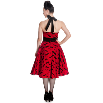 robe pour femmes HELL BUNNY - Bat 50´s - Rouge / noir, HELL BUNNY