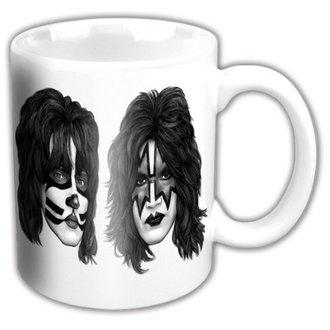 tasse KISS - Graphite Faces - ROCK OFF, ROCK OFF, Kiss