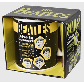 tasse The Beatles - Live In Concert - ROCK OFF, ROCK OFF, Beatles