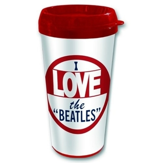 tasse thermo The Beatles - I love The Beatles - ROCK OFF, ROCK OFF, Beatles