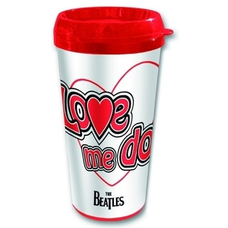 tasse thermo The Beatles - Love Me Do - ROCK OFF, ROCK OFF, Beatles