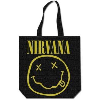 sac (sac à main) Nirvana - Smiley & Logo - ROCK OFF, ROCK OFF, Nirvana