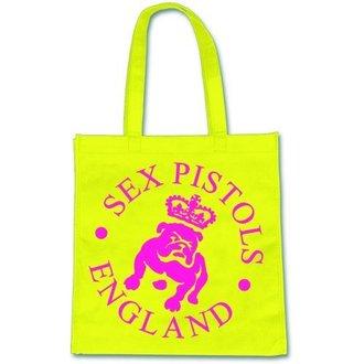 sac (sac à main) Pink Floyd - Sex Pistols - Bulldog Logo - ROCK OFF, ROCK OFF, Sex Pistols