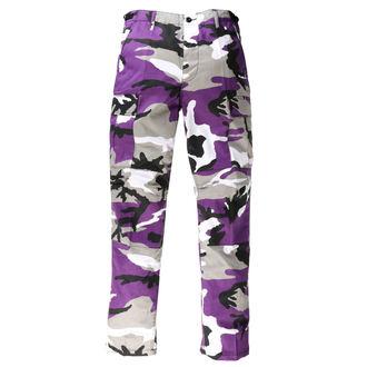 Pantalon hommes US BDU - ARMY - LILAS CAMO, MMB