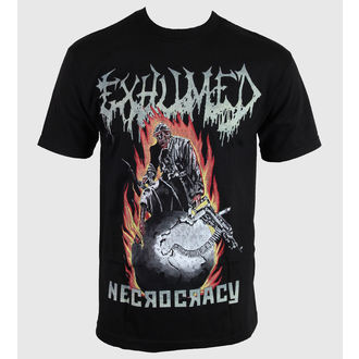 tee-shirt métal pour hommes Exhumed - Necrocracy - RELAPSE, RELAPSE, Exhumed