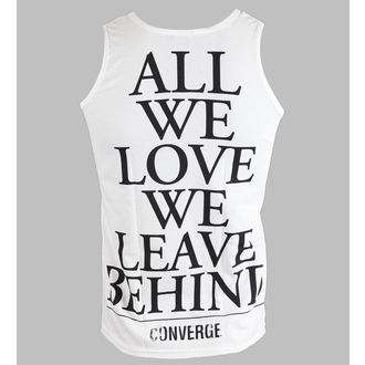 débardeur pour hommes Converge - All We Love - Blanc - KINGS ROAD, KINGS ROAD, Converge