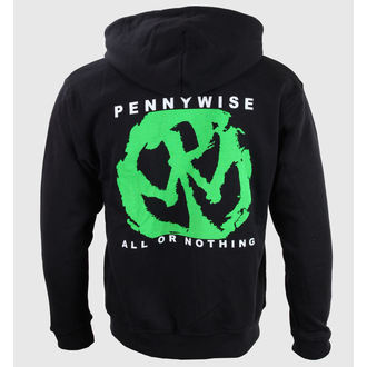 sweat-shirt pour hommes Pennywise - All Or Nothing - Noire - KINGS ROAD, KINGS ROAD, Pennywise