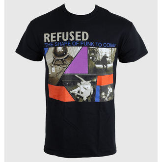tee-shirt métal pour hommes unisexe Refused - The Shape Of Punk - KINGS ROAD, KINGS ROAD, Refused