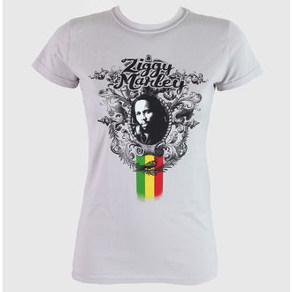 tee-shirt métal pour femmes unisexe Ziggy Marley - Peaceful - KINGS ROAD, KINGS ROAD, Ziggy Marley