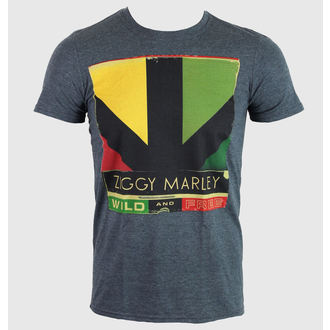 tee-shirt métal pour hommes unisexe Ziggy Marley - Wild & Free Album - KINGS ROAD, KINGS ROAD, Ziggy Marley