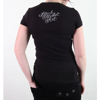 t-shirt hardcore pour femmes unisexe - Adi- Boxer - BLACK MARKET, BLACK MARKET