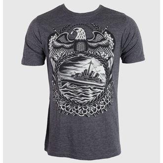 t-shirt hardcore pour hommes unisexe - Britton McFetridge - BLACK MARKET, BLACK MARKET