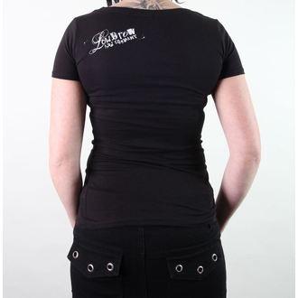 t-shirt hardcore pour femmes unisexe - Whitney Lenos - BLACK MARKET, BLACK MARKET