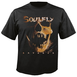 tee-shirt métal pour hommes unisexe Soulfly - Savages - NUCLEAR BLAST, NUCLEAR BLAST, Soulfly