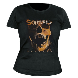 tee-shirt métal pour femmes unisexe Soulfly - Savages - NUCLEAR BLAST, NUCLEAR BLAST, Soulfly