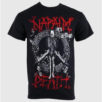 tee-shirt métal pour hommes unisexe Napalm Death - - RAGEWEAR, RAGEWEAR, Napalm Death