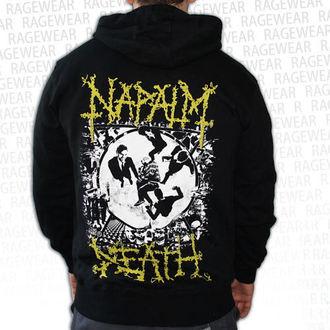 sweat-shirt avec capuche pour hommes Napalm Death - Ultilitarian - RAGEWEAR, RAGEWEAR, Napalm Death