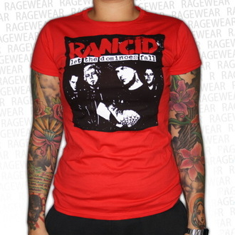tee-shirt métal pour femmes unisexe Rancid - Dominoes - RAGEWEAR, RAGEWEAR, Rancid