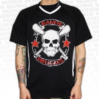 tee-shirt métal pour hommes unisexe Rancid - Hooligans Big Skull - RAGEWEAR, RAGEWEAR, Rancid