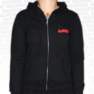 sweat-shirt avec capuche pour femmes Rancid - Wolves - RAGEWEAR, RAGEWEAR, Rancid
