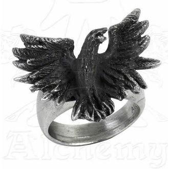 anneau Flocage Raven - ALCHEMY GOTHIC