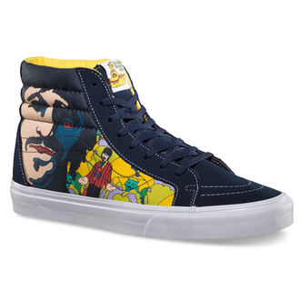 chaussures de tennis montantes pour femmes Beatles - SK8-HI Reissue (The Beatles) - VANS, VANS, Beatles