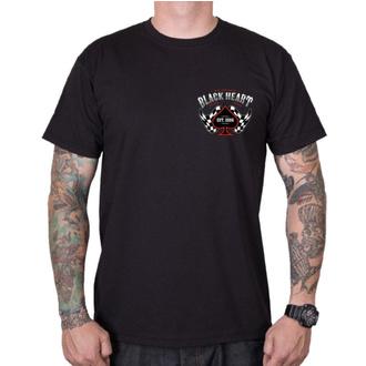 tee-shirt street pour hommes - ALEXIS - BLACK HEART, BLACK HEART