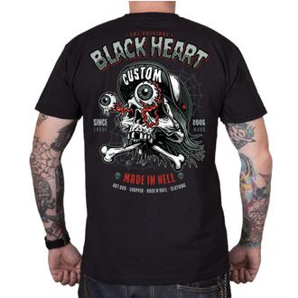 tee-shirt street pour hommes - FULL PUNK - BLACK HEART, BLACK HEART