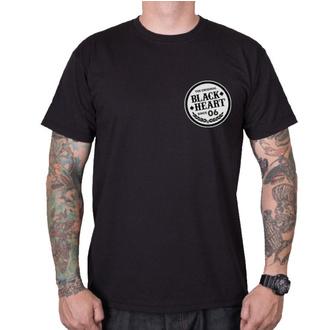 tee-shirt street pour hommes - ROADSTER HOT ROD - BLACK HEART, BLACK HEART