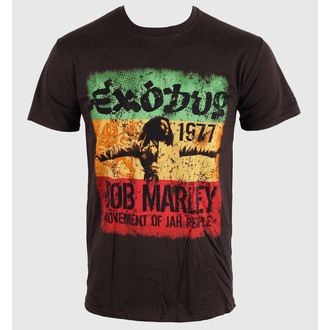 tee-shirt métal pour hommes unisexe Bob Marley - Movement Dk - ROCK OFF, ROCK OFF, Bob Marley