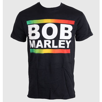 tee-shirt métal pour hommes unisexe Bob Marley - Rasta Band Block - BRAVADO EU, BRAVADO EU, Bob Marley