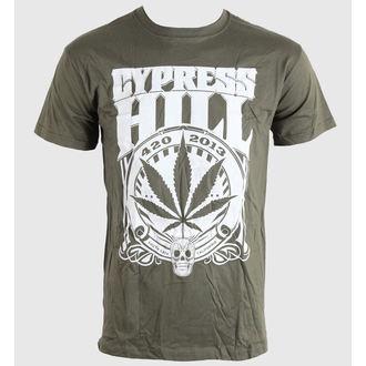 tee-shirt métal pour hommes unisexe Cypress Hill - 420 2013 - BRAVADO EU, BRAVADO EU, Cypress Hill