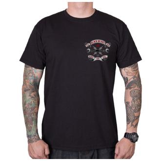 tee-shirt street pour hommes - RIDE OR DIE - BLACK HEART, BLACK HEART