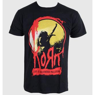 tee-shirt pour hommes Korn - Stage - Noir - BRAVADO UE, BRAVADO EU, Korn