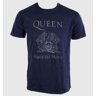 tee-shirt métal pour hommes unisexe Queen - Greatest Hits II - BRAVADO EU, BRAVADO EU, Queen