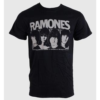 tee-shirt métal pour hommes unisexe Ramones - Odeon Poster - BRAVADO EU, BRAVADO EU, Ramones