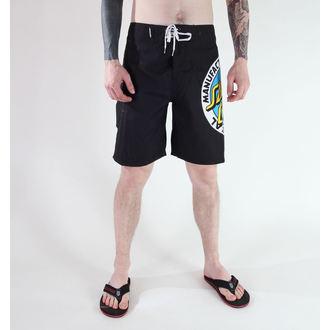 maillot de bain pour hommes (short) SANTA CRUZ - MF ORIGINAL - Noire, SANTA CRUZ