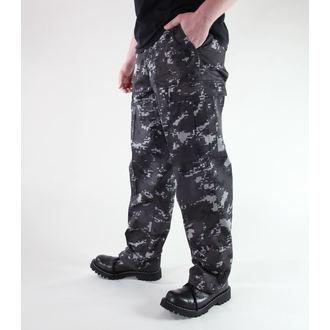 pantalon pour hommes MIL-TEC - US Ranger Hose - Noire Digital, MIL-TEC